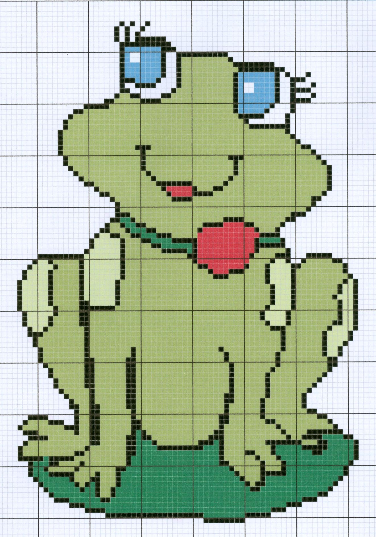 Judy Bs Crochet Creations Stitch Diagram Patterns Afghan Diagrams Shi Frog Graph Chart Pattern